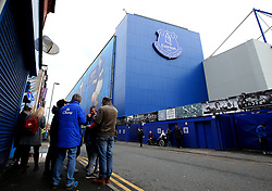 Fans arrive at Goodison Park for the Premier League fixture between Everton and Manchester City - Mandatory by-line: Robbie Stephenson/JMP - 31/03/2018 - FOOTBALL - Goodison Park - Liverpool, England - Everton v Manchester City - Premier League