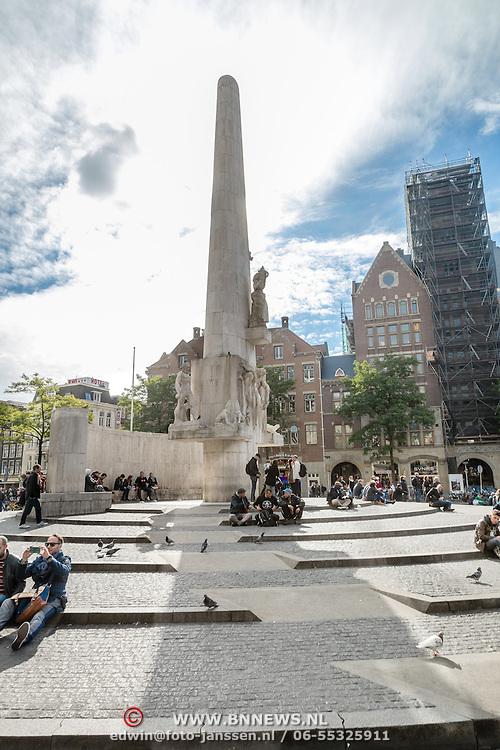 NLD/Amsterdam/20161007 - Het Nationaal Monument op de Dam in Amsterdam