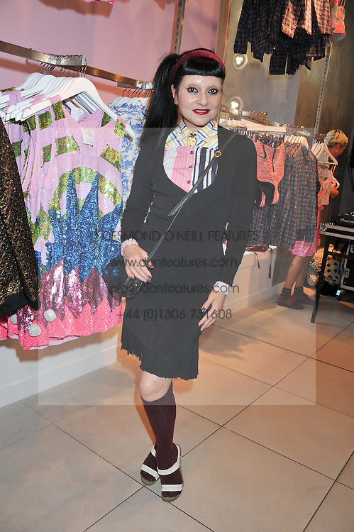 DJ PRINCESS JULIA at a party to celebrate the launch of Louise Gray's make-up and clothing collections for Topshop held at Topshop Edited, 286 Regent Street, London on 22nd August 2012.