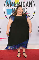 November 19, 2017 - Los Angeles, California, U.S - Chrissy Metz on the Red Carpet of the 2017 American Music Awards held on Sunday, November 19, 2017 at the Microsoft Theatre in Los Angeles, California. (Credit Image: © Prensa Internacional via ZUMA Wire)