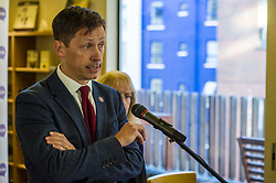 Pictured: John Edward<br /> Scottish launch of the campaign for people across the UK to have the final say on Brexit in a 'People's Vote'. Moderated by the incoming chair of the Chair of the European Movement in Scotland, Mark Lazaowicz, speakers included Dr Kirsty Hughes, director of the Scottish Centre on European Relations; Georgie Harris, Vice President Community of the University of Edinburgh Studenst Association and John Edward, former head of the European Parliament Office in Scotland. <br /> <br /> Ger Harley   EEm Date