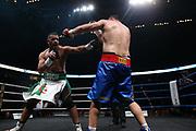 Boxen: Big Deal, Schwergewicht, WBO-EM, Hamburg, 19.05.2017<br /> Christian Hammer (RUM, EC Boxing) - Zine Eddine Benmakhlouf (FRA)<br /> © Torsten Helmke