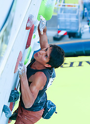 31.07.2015, Mariahilfer Straße, Wien, AUT, ISFC, Free Solo Masters MAHÜ, Vorqualifikation, im Bild Andrey Mata Velasquez // during the prequalification of the ISFC Free Solo Masters MAHÜ at the Mariahilfer Straße in Vienna, Austria on 2015/07/31. EXPA Pictures © 2015, PhotoCredit: EXPA/ Sebastian Pucher