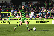 Forest Green Rovers Haydn Hollis during the EFL Sky Bet League 2 match between Forest Green Rovers and Chesterfield at the New Lawn, Forest Green, United Kingdom on 21 April 2018. Picture by Shane Healey.