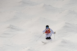 February 9, 2018 - Pyeongchang, South Korea - 180209 Walter Wallberg of Sweden compete in the MenÃ•s Moguls Qualification during the 2018 Winter Olympics on February 9, 2018 in Pyeongchang..Photo: Petter Arvidson / BILDBYRN / kod PA / 91956 (Credit Image: © Petter Arvidson/Bildbyran via ZUMA Press)