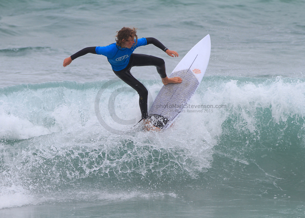 Day 2 South island Grom Series 2018 <br /> Held in cloudy / drizzly St Clair day ,