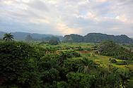 Countryside around Vinales, Pinar del Rio, Cuba.