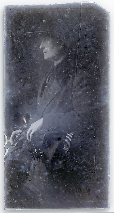 portrait of adult woman in chair early 1900s