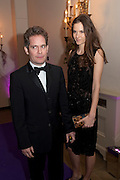 TOM HOLLANDER; FRAN HICKMAN, The Surrealist Ball in aid of the NSPCC. Hosted by Lucy Yeomans and Harry Blain. Banqueting House. Whitehall. 17 March 2011. -DO NOT ARCHIVE-© Copyright Photograph by Dafydd Jones. 248 Clapham Rd. London SW9 0PZ. Tel 0207 820 0771. www.dafjones.com.