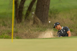 March 23, 2018 - Austin, TX, U.S. - AUSTIN, TX - MARCH 23:  X. Schauffele hits out of a green side bunker during the WGC-Dell Technologies Match Play Tournament on March 22, 2018, at the Austin Country Club in Austin, TX.  (Photo by David Buono/Icon Sportswire) (Credit Image: © David Buono/Icon SMI via ZUMA Press)