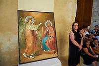 Grèce, Crète, Héraklion, eglise orthodoxe dans le centre ville. // Greece, Iraklion, orthodox church