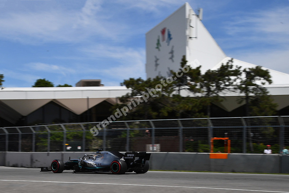 Lewis Hamilton (Mercedes) during practice for the 2019 Canadian Grand Prix in Montreal. Photo: Grand Prix Photo