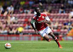 Bristol City's Jordan Wynter - Photo mandatory by-line: Joe Meredith/JMP - Tel: Mobile: 07966 386802 13/07/2013 - SPORT - FOOTBALL - Bristol -  Bristol City v Glasgow Rangers - Pre Season Friendly - Bristol - Ashton Gate Stadium