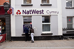 Nat West bank, Abergavenny, Wales, May 2021