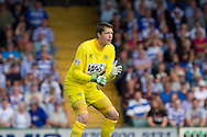 Wayne Hennessey , goalkeeper of Yeovil Town during the Skybet championship match, Yeovil Town v Reading at Huish Park in Yeovil on Saturday 31st August 2013. <br /> Picture by Sophie Elbourn, Andrew Orchard sports photography,
