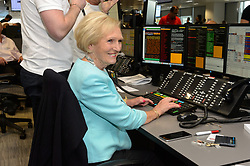 © Licensed to London News Pictures. 11/09/2017. MARY BERRY takes part in the on the annual BGC Partners Charity Day in commemoration of its 658 friends and colleagues and 61 Eurobroker employees lost in the World Trade Center attacks on 9/11. PIcture Credit: Tang/LNP