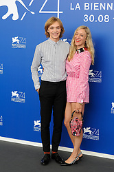 """Lean on Pete"" photocall - 74th Venice Film Festival at Sala Casino on September 1, 2017 in Venice, Italy. 01 Sep 2017 Pictured: Chloe Sevigny and Charlie Plummer attend the 'Lean On Pete' photocall during the 74th Venice Film Festival at Sala Casino on September 1, 2017 in Venice, Italy. Photo credit: MEGA TheMegaAgency.com +1 888 505 6342"