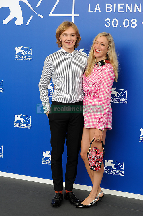 """""""Lean on Pete"""" photocall - 74th Venice Film Festival at Sala Casino on September 1, 2017 in Venice, Italy. 01 Sep 2017 Pictured: Chloe Sevigny and Charlie Plummer attend the 'Lean On Pete' photocall during the 74th Venice Film Festival at Sala Casino on September 1, 2017 in Venice, Italy. Photo credit: MEGA TheMegaAgency.com +1 888 505 6342"""