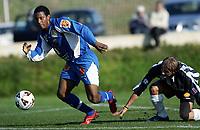 Fotball<br /> La Manga 2006<br /> Tromsø v KR Reykjavik<br /> 13.02.2006<br /> Foto: Morten Olsen, Digitalsport<br /> <br /> Patrice Bernier