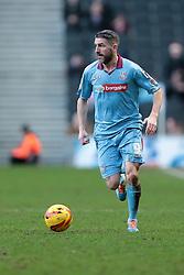 Tranmere Rovers' Ryan Lowe - Photo mandatory by-line: Nigel Pitts-Drake/JMP - Tel: Mobile: 07966 386802 01/02/2014 - SPORT - FOOTBALL - Stadium MK - Milton Keynes - MK Dons v Tranmere Rovers - Sky Bet League One