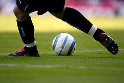 Birmingham City goalkeeper Maik Taylor takes a goalkick