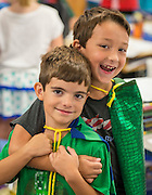 Students at Oak Forest Elementary School, October 4, 2016.