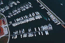 THEMENBILD - Segelboote und Yachten im Hafen, aufgenommen am 04. Juli 2020 in Novigrad, Kroatien // Sailboats and yachts in port in Novigrad, Croatia on 2020/07/04. EXPA Pictures © 2020, PhotoCredit: EXPA/ JFK