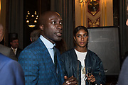 EMILIA BOATENG; OSWALD BOATENG, TenTen. The Government Art Collection/Outset Annual Award. Champagne reception to announce the inaugural artist Hurvin Anderson and unveil his 2018 print. Locarno Suite, Foreign and Commonwealth Office. SW1. 2 October 2018