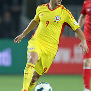 Romania's Ciprian Andrei Marica during their FIFA World Cup 2014 qualifying soccer match Turkey betwen Romania at Sukru Saracoglu stadium in Istanbul october 12, 2012. Photo by TURKPIX