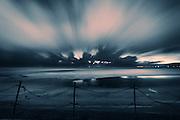 Night on Blackpool Beach III - Blackpool, Lancashire, England