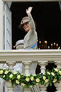Prinsjesdag 2011 - Paleis Noordeinde Den Haag.  Op Prinsjesdag spreekt het staatshoofd, Koningin Beatrix, de troonrede uit. Daarin geeft de regering aan wat het regeringsbeleid zal zijn voor het komende jaar.<br /> <br /> Prinsjesdag (English: Prince's Day) is the day on which the reigning monarch of the Netherlands (currently Queen Beatrix) addresses a joint session of the Dutch Senate and House of Representatives in the Ridderzaal or Hall of Knights in The Hague. <br /> <br /> Op de foto/ On the Photo Prinses Maxima