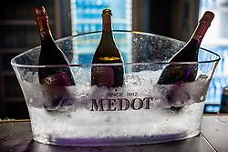 Medot wine during Tennis tournament of Slovenian Recreational players, on August 16, 2020 in SC Marina, Portoroz / Portorose, Slovenia. Photo by Vid Ponikvar / Sportida