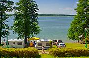 Camping dla przyczep turystycznych w WDW Węgorzewo