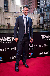Josh Duhamel attends the US Premier of 'Transformers: The Last Knight' on the Chicago River in front of the Civic Opera House on Tuesday June 20, 2017 in Chicago, IL. Photo: Christopher Dilts / Sipa USA *** Please Use Credit from Credit Field ***