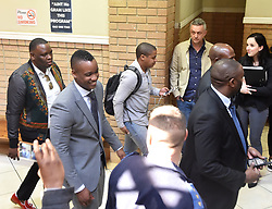South Africa: Gauteng: The son of former president Jacob Zuma, Duduzane Zuma leaves the Randburg Magistrates court in Johannesburg, the son of the former president is facing a culpable homicide charge over a 2014 car acciden.<br />939<br />23.08.2018<br />Picture: Itumeleng English/African News Agency (ANA)