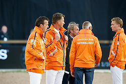 Smolders Harrie, NED, Houtzager Mark, NED, Romp Ruben, NED, Ehrens Rob, NED<br /> FEI European Jumping Championships - Goteborg 2017 <br /> © Hippo Foto - Dirk Caremans<br /> 25/08/2017,