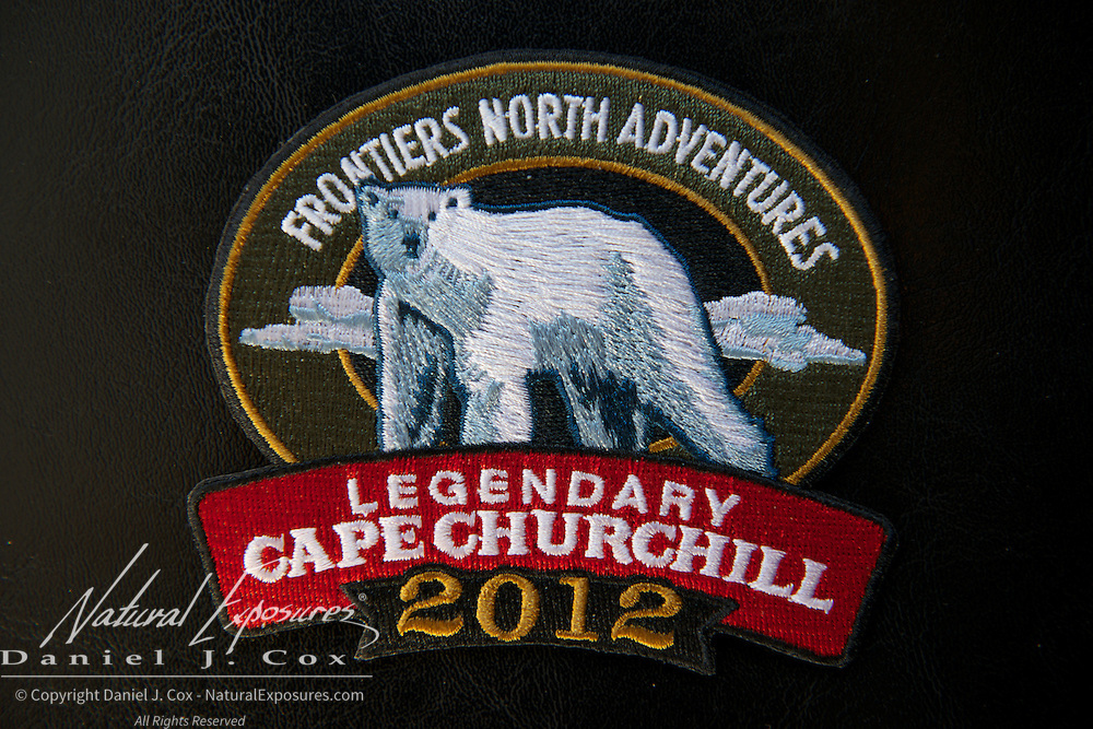Frontiers North Cape Churchill jacket patch.