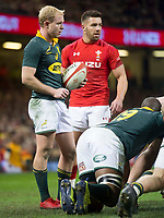 Rugby Union - 2017 Under Armour Series (Autumn Internationals) - Wales vs. South Africa<br /> <br /> Ross Cronje South Africa & Rhys Webb of Wales, at The Principality Stadium (Millennium Stadium), Cardiff.<br /> <br /> COLORSPORT/WINSTON BYNORTH