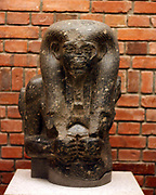 Torso of a Nile god; Egyptian Middle Kingdom; 2000-1600 BC