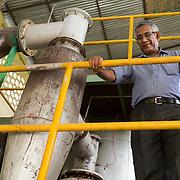 CAPTION: S N Sharan, affectionately known as 'Bullu Ji', is the CEO and Director of DESI Power. LOCATION: Gayari, Araria District, Bihar, India. INDIVIDUAL(S) PHOTOGRAPHED: S N Sharan ('Bullu Ji').