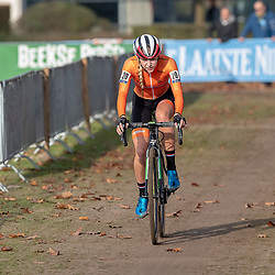 04-11-2018: Wielrennen: EK veldrijden: Rosmalen <br />Inge van der Heijden