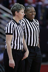 01 November 2017: , Lasha Hopson, Jodi Duffe during a Exhibition College Women's Basketball game between Illinois State University Redbirds the Red Devils of Eureka College at Redbird Arena in Normal Illinois.