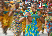 Photo: Steve Bond/Richard Lane Photography.<br />Ghana v Guinea. Africa Cup of Nations. 20/01/2008. The colourful opening ceremony