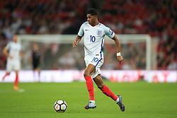 5 October 2017 -  2018 FIFA World Cup Qualifying (Group F) - England v Slovenia - Marcus Rashford of England - Photo: Marc Atkins/Offside