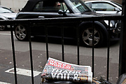 "The last ever copy of tabliod newspaper News of The World. Sunday 10th July 2011 saw the end for this most famous of newspapers. Embroiled in the phone hacking scandal, this News International paper had approximately 7 million readers at the time of it's demise. On the cover of this, the final edition, with examples of previous journalistic success the headline simply read ""Thank You & Goodbye""."