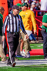 NORMAL, IL - October 16:  Scott Landy during a college football game between the NDSU (North Dakota State) Bison and the ISU (Illinois State University) Redbirds on October 16 2021 at Hancock Stadium in Normal, IL. (Photo by Alan Look)