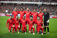 20091114: LISBON, PORTUGAL - Portugal vs Bosnia and Herzegovina - Worldcup 2010 Play-off 1st leg. In picture: Portugal initial team. PHOTO: Carlos Rodrigues/CITYFILES