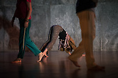 move (on) | rehearsal +