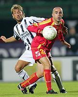 "Coppola Carmine (Messina)<br /> Italian ""Serie A"" 2006-07<br /> 14 Oct 2006 (match day 6)<br /> Siena-Messina (3-1)<br /> ""A.Franchi"" Stadium-Siena-Italy<br /> Photographer Luca Pagliaricci INSIDE"