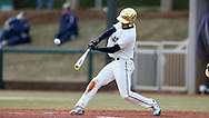 CARY, NC - MARCH 04: Notre Dame's Jake Johnson. The University of Rhode Island Rams played the University of Notre Dame Fighting Irish on March 4, 2017, at USA Baseball NTC Field 3 in Cary, NC in a Division I College Baseball game, and part of the Irish Classic tournament. Notre Dame won the game 8-4.